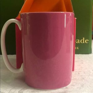 Kate Spade 'Skirt the Rules' Mug